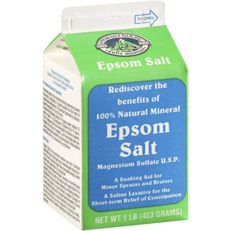 Epsom Salt For Treating Acne