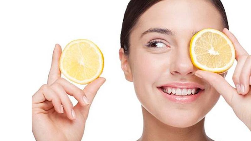 lemon juice for dark circles