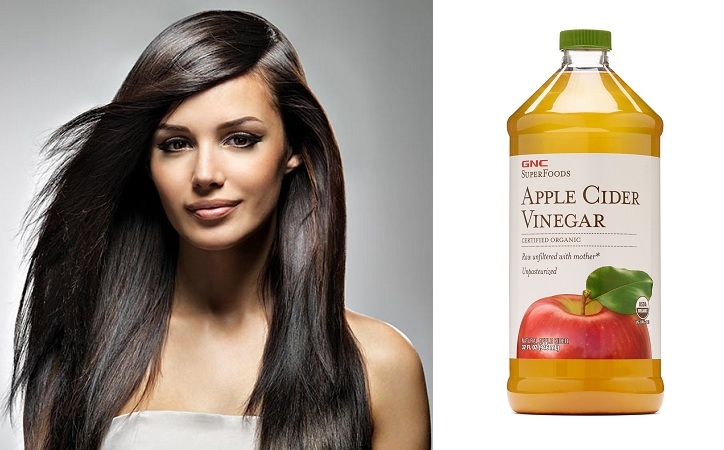 Apple Cedar Vinegar For Shiny Hair