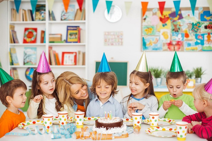 Theme Birthday Party For Children
