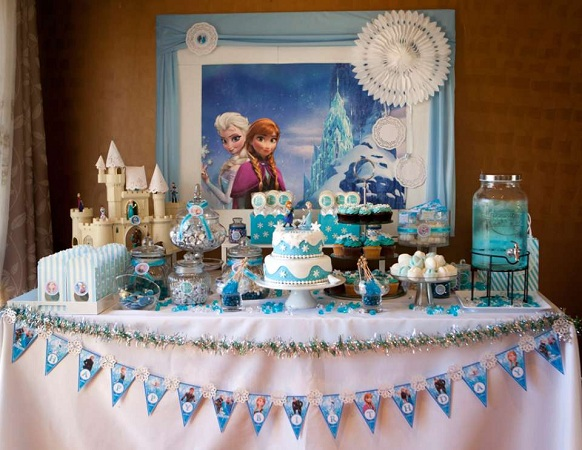 Frozen Princess Birthday Celebration For Children