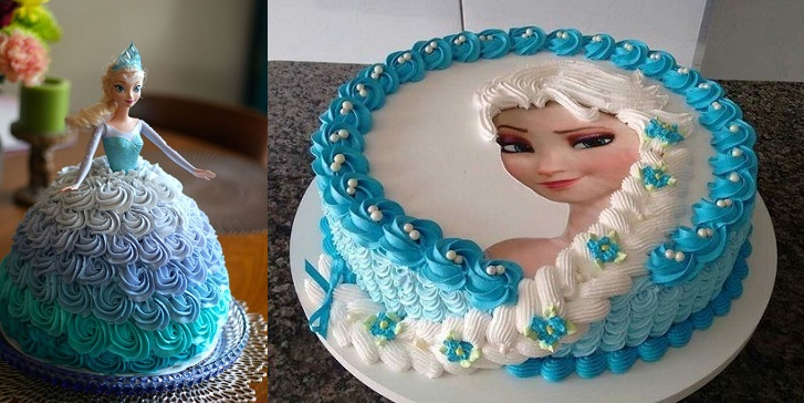 Frozen Queen Elsa Cake Ideas