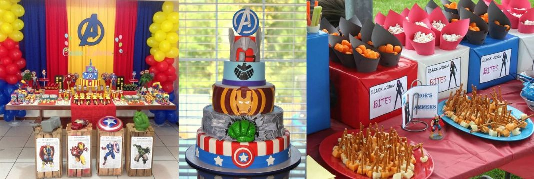 Marvel Theme Birthday Party For Children