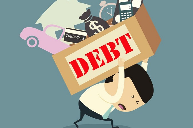 Don't get into more debt