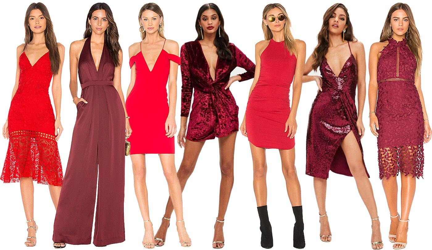 Valentine Day Dress Colors