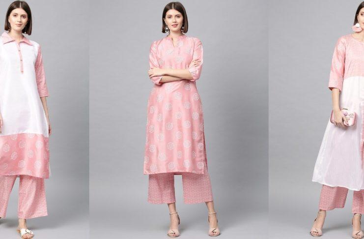 Pink kurtis